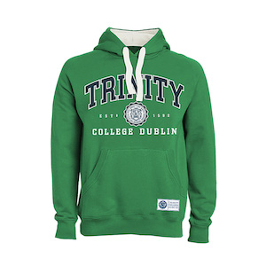 Licensed Trinity College Dublin Hooded Sweatshirt