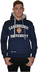 Cambridge University Hooded Sweatshirt