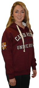 Cambridge University Zipped Hoodie